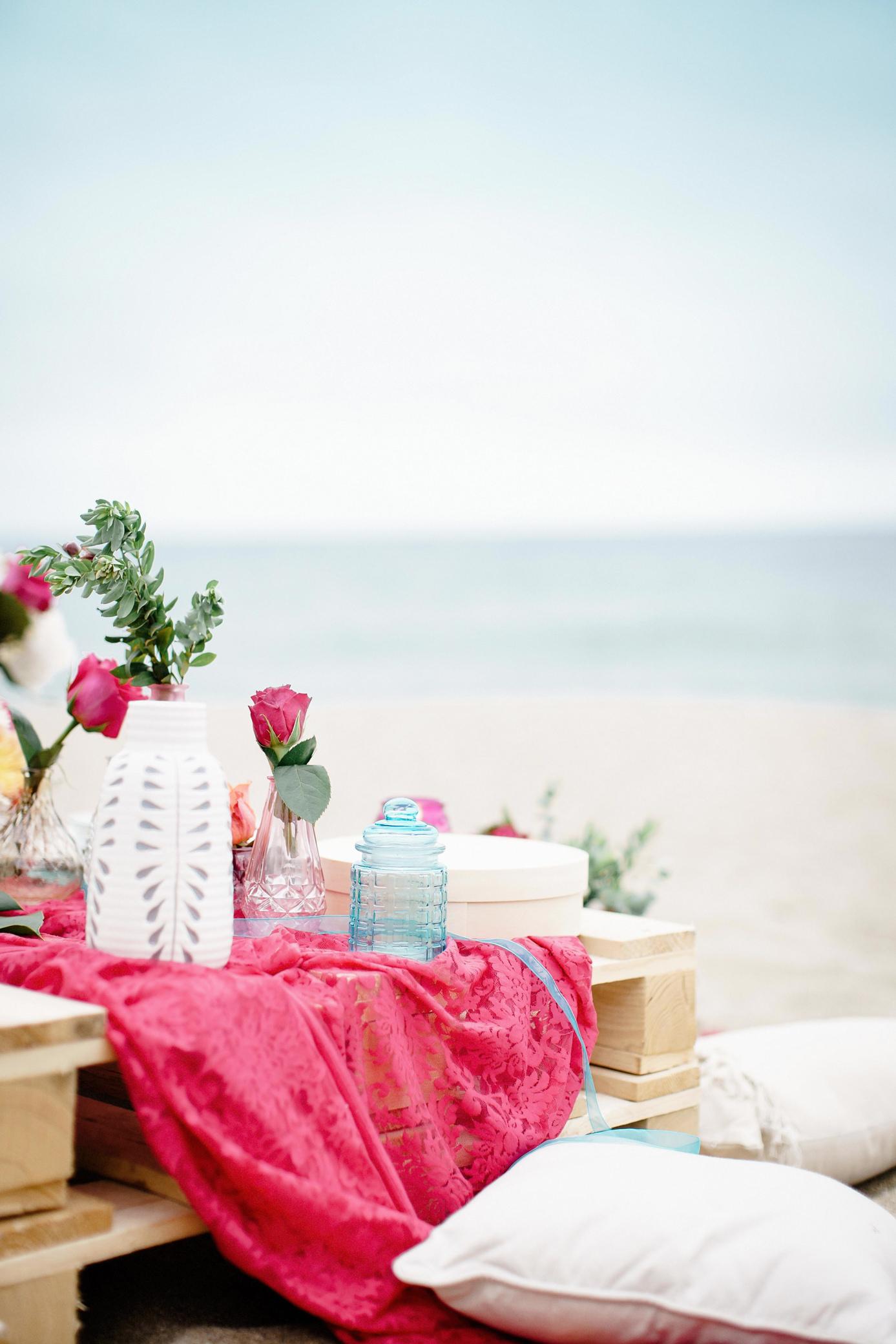 décoration mariage plage